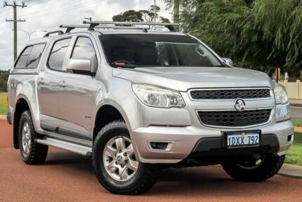 2012 Holden Colorado RG MY13 LT Crew Cab Silver 6 Speed Sports Automatic Utility Wangara Wanneroo Area Preview