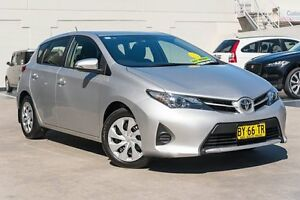 2014 Toyota Corolla ZRE182R Ascent S-CVT Silver 7 Speed Constant Variable Hatchback Brookvale Manly Area Preview