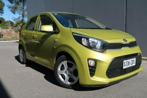 2018 Kia Picanto JA MY19 S Green 4 Speed Automatic Hatchback Old Reynella Morphett Vale Area Preview