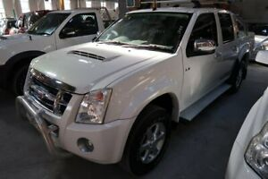 2009 Isuzu D-MAX MY09 LS-U White 5 Speed Manual Utility Hamilton North Newcastle Area Preview