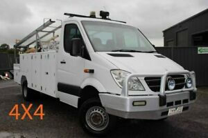 2012 Mercedes-Benz Sprinter NCV3 MY12 519CDI LWB 7G-Tronic White 7 Speed Sports Automatic Officer Cardinia Area Preview