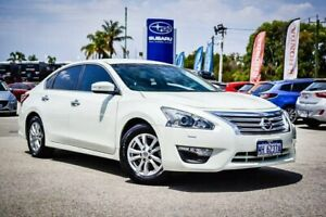 2016 Nissan Altima L33 ST X-tronic White 1 Speed Constant Variable Sedan