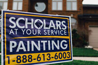 Scholars At Your Service Painting