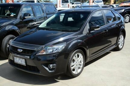 2011 Ford Focus LV Mk II Zetec Black/Grey 5 Speed Manual Hatchback Mornington Mornington Peninsula Preview