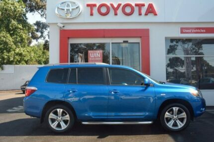 2007 Toyota Kluger GSU40R KX-S 2WD Blue 5 Speed Sports Automatic Wagon