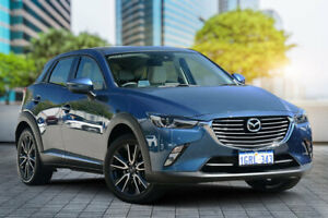 2018 Mazda CX-3 DK4W7A Akari SKYACTIV-Drive i-ACTIV AWD Eternal Blue 6 Speed Sports Automatic Wagon Bayswater Bayswater Area Preview
