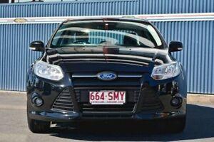 2012 Ford Focus LW MKII Trend PwrShift Black 6 Speed Sports Automatic Dual Clutch Sedan