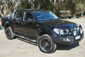 2014 Nissan Navara D40 S9 Silverline SE Black 6 Speed Manual Utility Brighton Bayside Area Preview