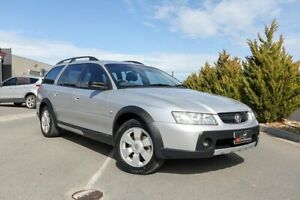 2006 Holden Adventra VZ MY06 SX6 Silver 5 Speed Automatic Wagon Lonsdale Morphett Vale Area Preview