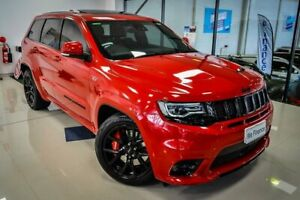 2018 Jeep Grand Cherokee WK MY18 SRT Red 8 Speed Sports Automatic Wagon Myaree Melville Area Preview