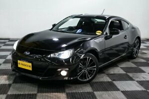 2013 Subaru BRZ Z1 MY13 Black 6 Speed Manual Coupe