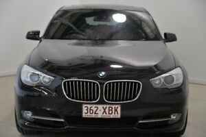 2010 BMW 530D F07 MY11 Gran Turismo Steptronic Black 8 Speed Sports Automatic Hatchback