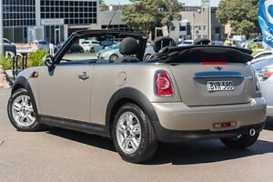 2010 Mini Cabrio R57 MY10 Cooper Steptronic Beige 6 Speed Sports Automatic Convertible Brookvale Manly Area Preview
