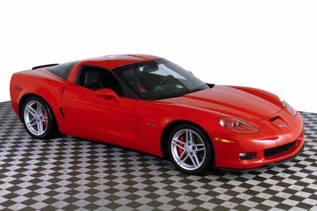 2006 Red Chevrolet Corvette Z06  | C6 Corvette Photo 7