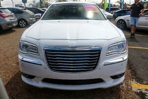 2015 Chrysler 300 LX C Sedan 4dr E-Shift 8sp 3.6i [MY15] White Sports Automatic Sedan Minchinbury Blacktown Area Preview