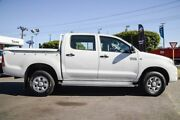 2010 Toyota Hilux KUN26R MY10 SR Glacier White 5 Speed Manual Dual Cab Osborne Park Stirling Area Preview