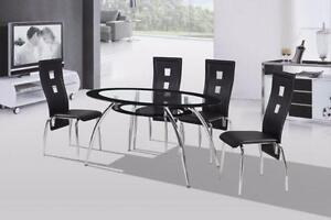 THIS BRAND NEW 5 PIECE DINETTE SET IS ON SALE FOR ONLY $475.00