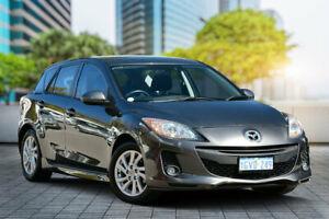 2011 Mazda 3 BL10F2 Maxx Activematic Sport Graphite 5 Speed Sports Automatic Hatchback Bayswater Bayswater Area Preview