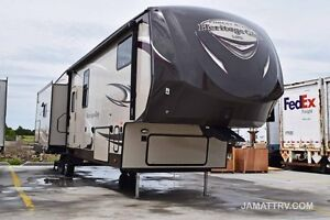 2015 heritage glen 368rlbhk fifth wheel