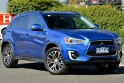 2016 Mitsubishi ASX XB MY15.5 LS 2WD Blue 6 Speed Constant Variable Wagon Narre Warren Casey Area Preview