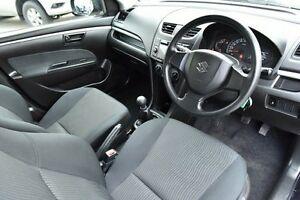 2012 Suzuki Swift FZ GA Black 5 Speed Manual Hatchback West Hindmarsh Charles Sturt Area Preview
