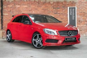 2013 Mercedes-Benz A-Class W176 A250 Sport Red Sports Automatic Dual Clutch Mulgrave Monash Area Preview