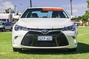 2016 Toyota Camry ASV50R Atara SL White 6 Speed Sports Automatic Sedan Victoria Park Victoria Park Area Preview