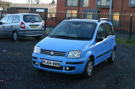 Fiat Panda 1.2 (Cheap car with 11 months MOT and panoramic roof)