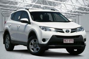 2015 Toyota RAV4 ZSA42R MY14 Upgrade GX (2WD) Glacier White Continuous Variable Wagon Eagle Farm Brisbane North East Preview