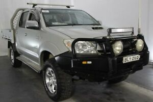 2009 Toyota Hilux KUN26R MY10 SR5 Silver 4 Speed Automatic Utility Maryville Newcastle Area Preview