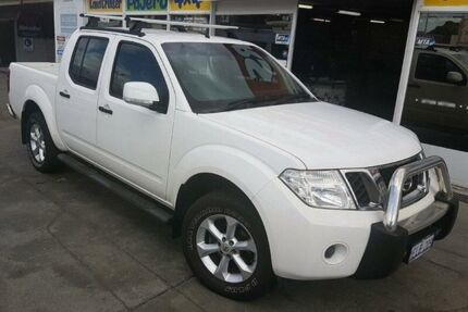 2013 Nissan Navara D40 MY12 ST (4x4) 6 Speed Manual Dual Cab Pick-up Cannington Canning Area Preview