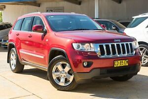 2012 Jeep Grand Cherokee WK MY2012 Laredo Red/Black 5 Speed Sports Automatic Wagon Greenacre Bankstown Area Preview