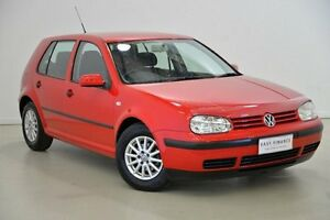 2001 Volkswagen Golf 4TH GEN GL Red 5 Speed Manual Hatchback Mansfield Brisbane South East Preview