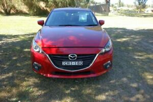 2013 Mazda 3 BL10L2 MY13 SP25 Activematic Red 5 Speed Sports Automatic Sedan East Maitland Maitland Area Preview