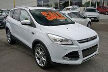 2014 Ford Kuga TF Titanium AWD White 6 Speed Sports Automatic Wagon Springwood Logan Area Preview