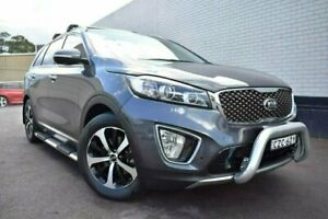 2015 Kia Sorento UM MY16 SLi Grey 6 Speed Sports Automatic Wagon Cardiff Lake Macquarie Area Preview