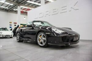2004 Porsche 911 996 Turbo S Black 6 Speed Manual Cabriolet Port Melbourne Port Phillip Preview