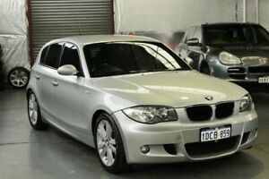 2009 BMW 1 Series E87 MY09 118i Titan Silver 6 Speed Automatic Hatchback Myaree Melville Area Preview