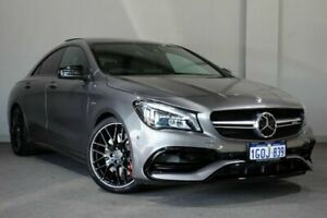 2018 Mercedes-Benz CLA45 C117 809MY AMG SPEEDSHIFT DCT 4MATIC Grey 7 Speed Bayswater Bayswater Area Preview