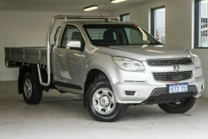 2014 Holden Colorado RG MY14 LX 4x2 Silver 6 Speed Sports Automatic Cab Chassis Melville Melville Area Preview