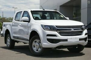 2018 Holden Colorado RG MY19 LS Pickup Crew Cab White 6 Speed Sports Automatic Utility Capalaba Brisbane South East Preview