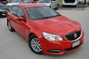 2014 Holden Commodore VF Evoke Red Sports Automatic