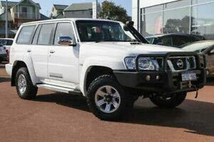 2015 Nissan Patrol Y61 GU 10 ST White 5 Speed Manual Wagon Clarkson Wanneroo Area Preview