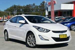 2014 Hyundai Elantra MD Series 2 (MD3) Trophy White 6 Speed Automatic Sedan Gosford Gosford Area Preview
