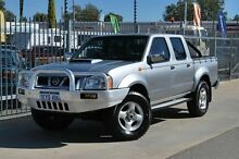 2012 Nissan Navara D22 Series 5 ST-R (4x4) Silver 5 Speed Manual Dual Cab Pick-up Maddington Gosnells Area Preview