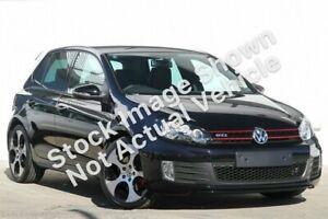 2012 Volkswagen Golf VI MY12.5 GTI DSG Black 6 Speed Sports Automatic Dual Clutch Hatchback Kirrawee Sutherland Area Preview