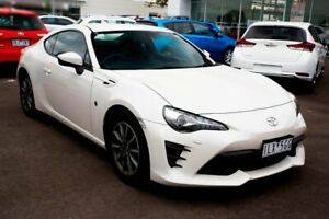 2017 Toyota 86 ZN6 GT White Liquid 6 Speed Sports Automatic Coupe