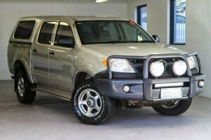 2005 Toyota Hilux GGN25R MY05 SR Silver 5 Speed Automatic Utility Melville Melville Area Preview