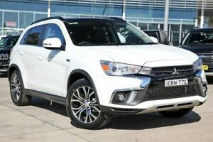 2018 Mitsubishi ASX XC MY18 XLS 2WD White 6 Speed Constant Variable Wagon Liverpool Liverpool Area Preview