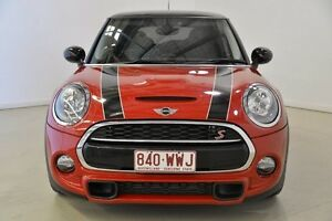 2014 Mini Hatch F56 Cooper S Red 6 Speed Automatic Hatchback Mansfield Brisbane South East Preview